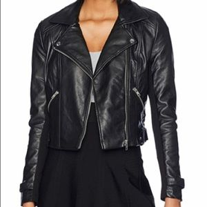 Romeo and Juliet Couture Motorcycle Jacket Black L